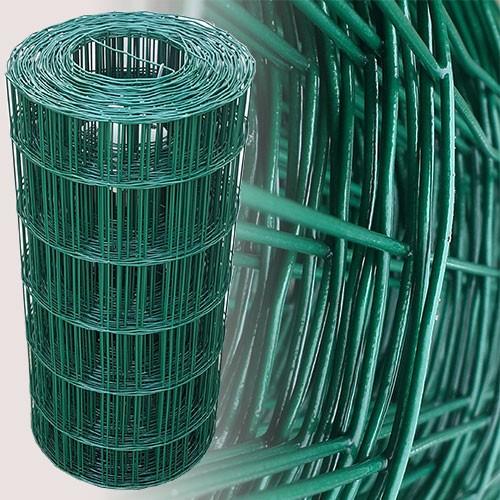 Gartenzaun 25m/60cm (100x75mm) grün | 60 cm hoch | Gartenzaun ...