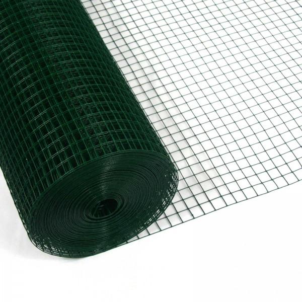 Volierendraht Grün 200cm 15m 12x12mm 1,20mm