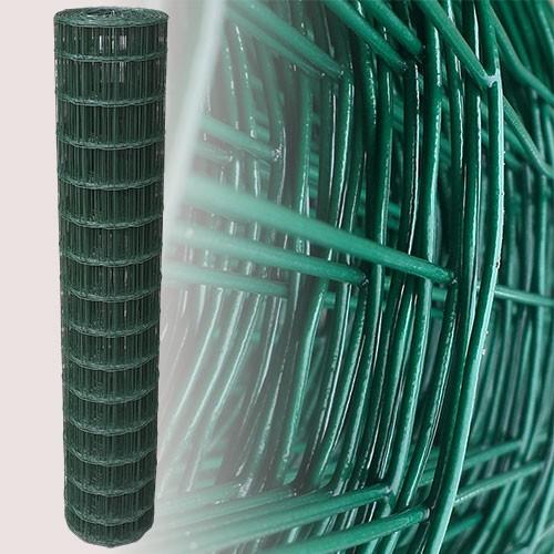 Gartenzaun Grün 150 cm 25 m (75x100 mm) | Grün - 7,5 x 10 cm ...