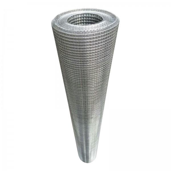 Volierendraht Edelstahl 100 cm 5 m 6x6 mm 0,7 mm