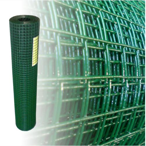 Volierendraht grün 100 cm 25 m 19x19 mm 1,2 mm