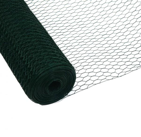Sechseckgeflecht Grün 75 cm 50 m 25 mm 1mm