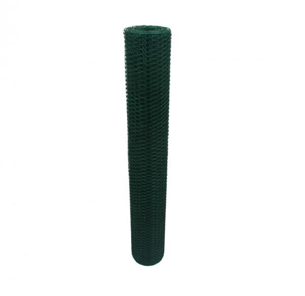 Sechseckgeflecht Grün 13mm 25m 100cm 1.0mm