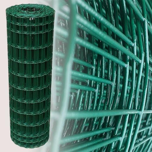 Gartenzaun Grün 100cm 25m 5x10cm 2,10mm