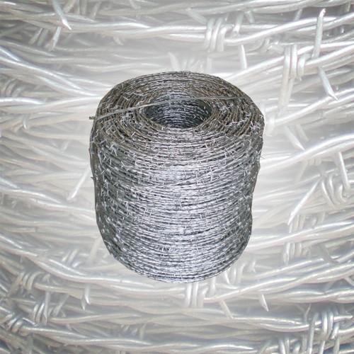 Stacheldraht verzinkt 500 m 1,8 mm
