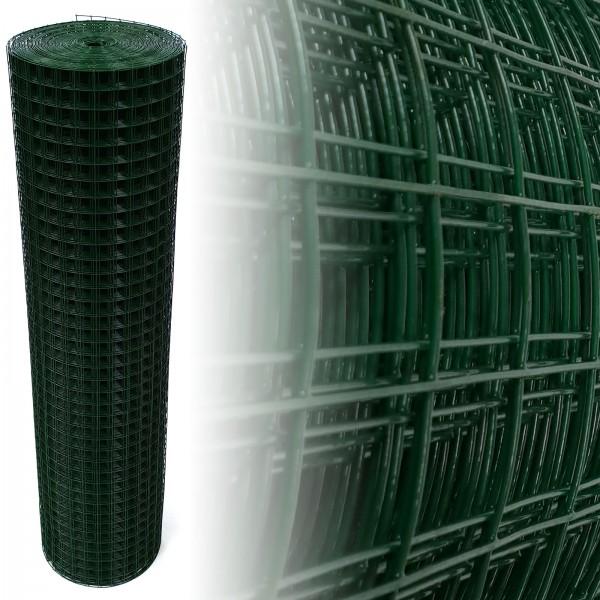 Volierendraht Grün 150 cm 12,5 m 25x25 mm 1,45 mm