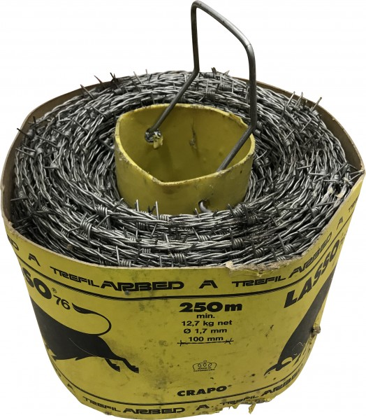 Stacheldraht Crapo Lasso 250m (1,7mm)