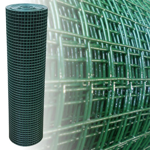 Volierendraht grün 195 cm 12,5 m 19x19 mm 1,45 mm