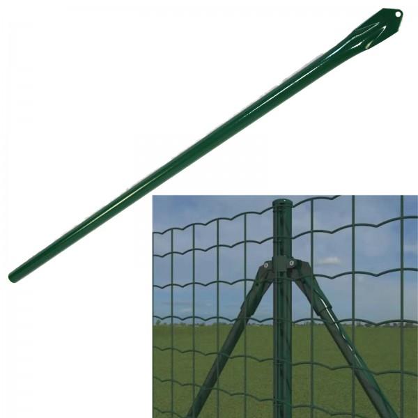Strebe für Quickfix Zaunpfosten, 95cm, grün