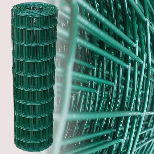 Gartenzaun Grün 100 cm 25 m (75x100 mm)