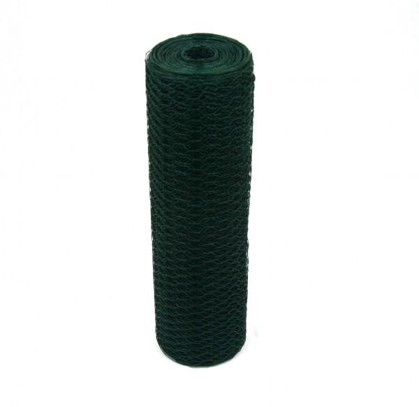 Sechseckgeflecht Grün 25mm 25m 50cm 1.2mm