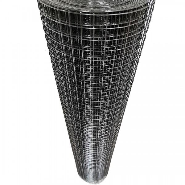 Volierendraht Edelstahl Schwarz 19 x 19mm 10M 100cm 1,50mm