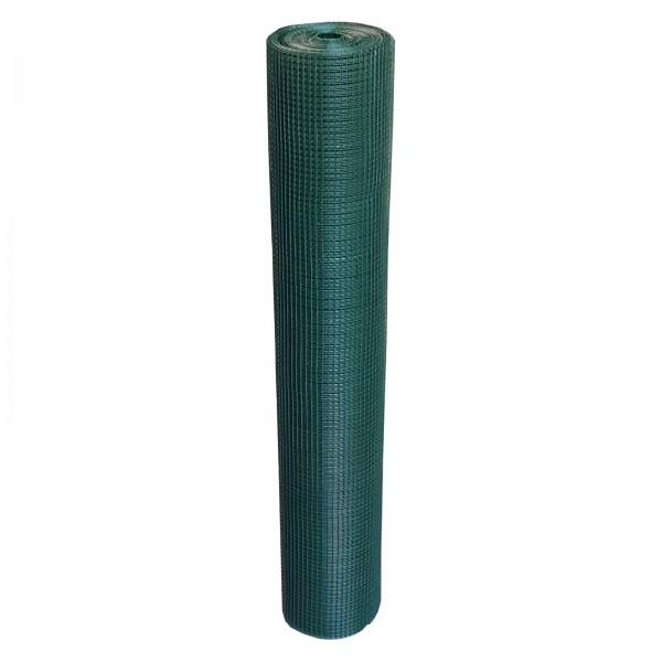 Volierendraht grün 150 cm 25 m 12x12 mm 1,1 mm