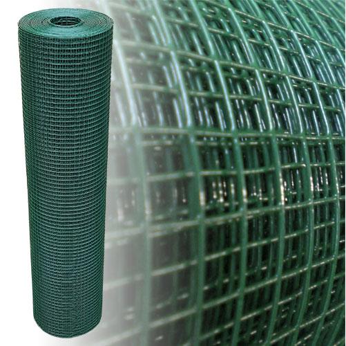 Volierendraht grün 200 cm 20 m 12x12 mm 1,2 mm