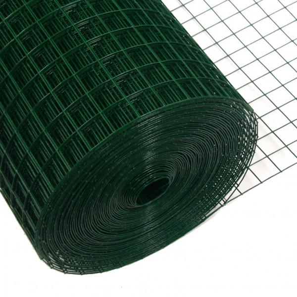 Volierendraht grün 100 cm 10 m 25x25 mm 1,2 mm