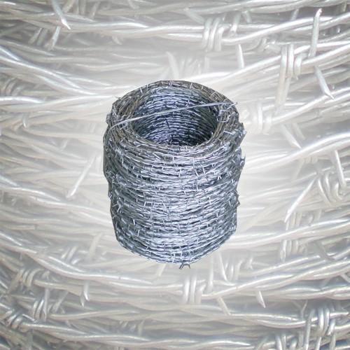 Stacheldraht verzinkt 100 m 1.8 mm