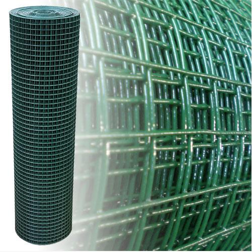 Volierendraht grün 100 cm 25 m 19x19 mm 1,45 mm