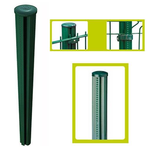 Zaunpfosten Pfosten 130cm grün Quickfix