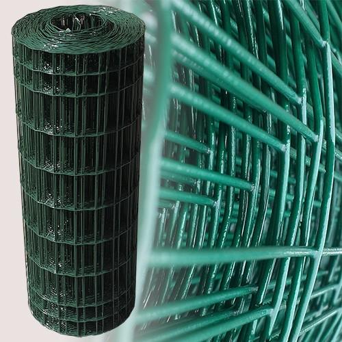 Gartenzaun Grün 80 cm 25 m (50x100 mm)