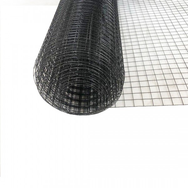 Volierendraht Edelstahl Schwarz 19 x 19mm 10M 100cm 1,00mm