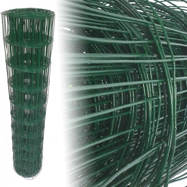 Gartenzaun Grün 100x100 10m 100cm 1,65mm