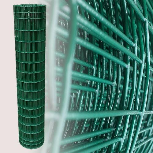 Gartenzaun Grün 150cm 25m 5x10cm 2,10mm