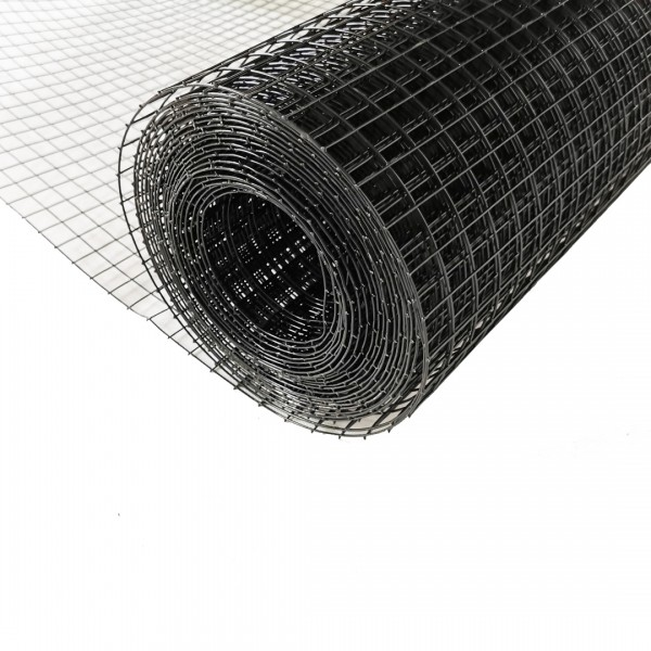 Volierendraht Edelstahl Schwarz 19 x 19mm 5M 100cm 1,20mm