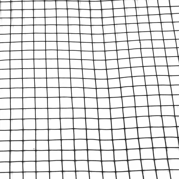 Volierendraht schwarz 100 cm 25 m 25x25 mm 1,2 mm