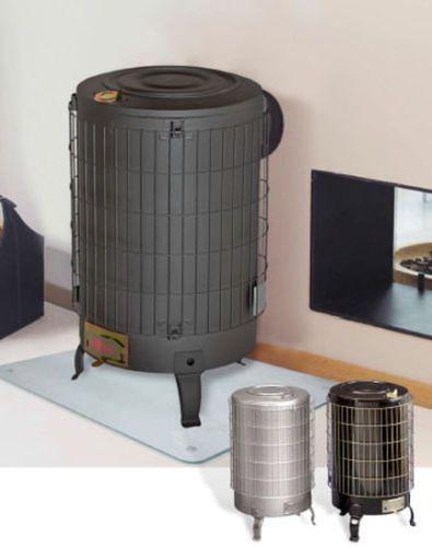 werkstattofen kaminofen ofen h ttenofen anthrazit 16 6 kw werkstatt holzofen ebay. Black Bedroom Furniture Sets. Home Design Ideas